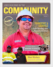 Jobs Building in the Community - Issue 1